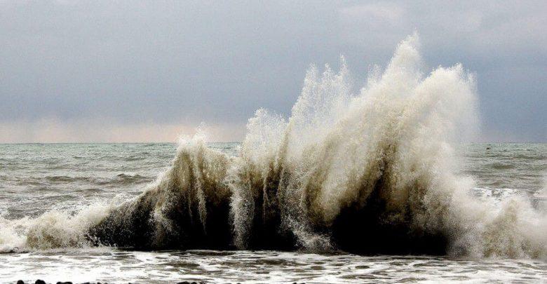 Зимний шторм в Сочи