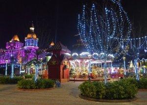 Новогодний Сочи парк