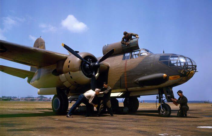 военный самолет модели А-20 «Дуглас»