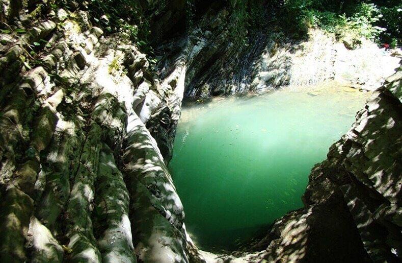 Свирское ущелье в Сочи - где сфотографироваться в Сочи
