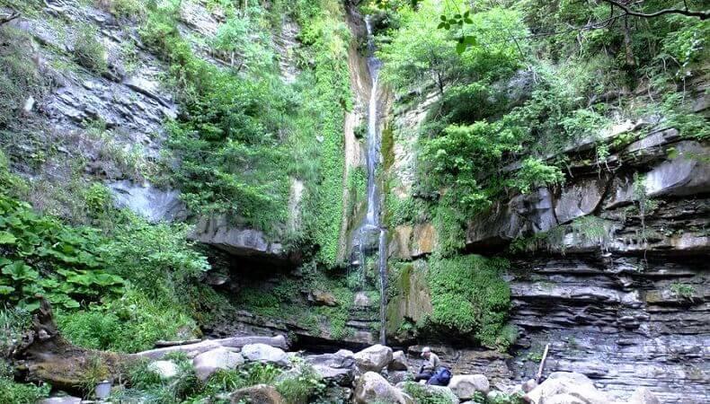 Сочи, водопад Игристый