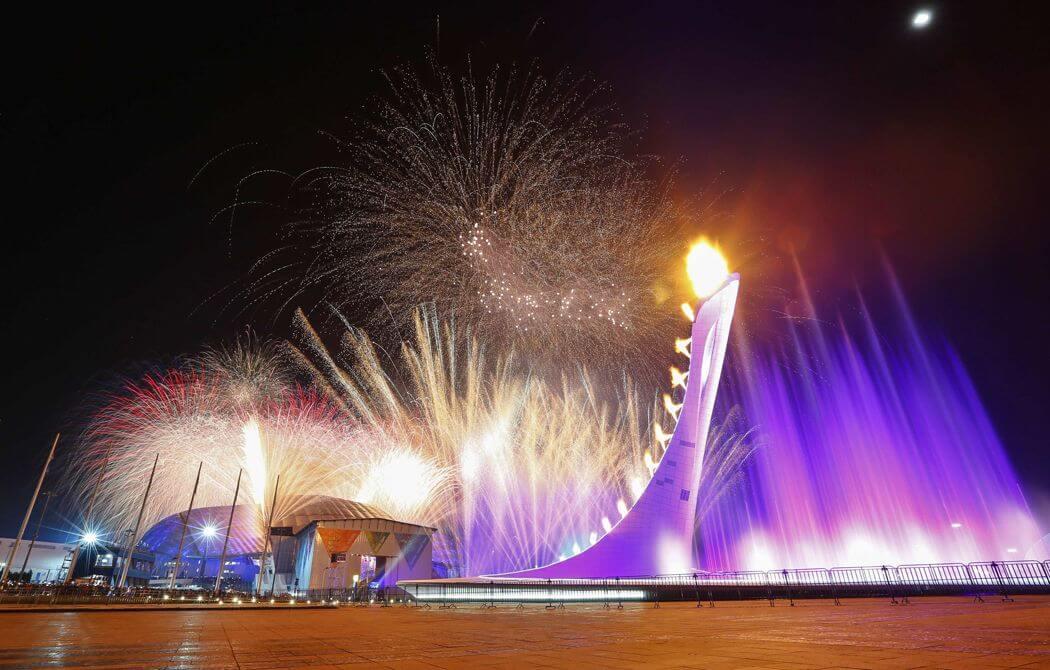 Поющий фонтан - Олимпийский парк Сочи