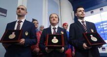 Презентация медалей военных игр