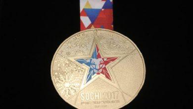 Медаль зимних военных всемирных игр которые пройдут в Сочи