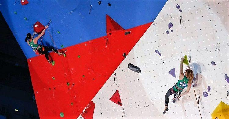 Скалолазки Лапшина и Миламид на зимних военных играх в Сочи успешно открыли соревнования