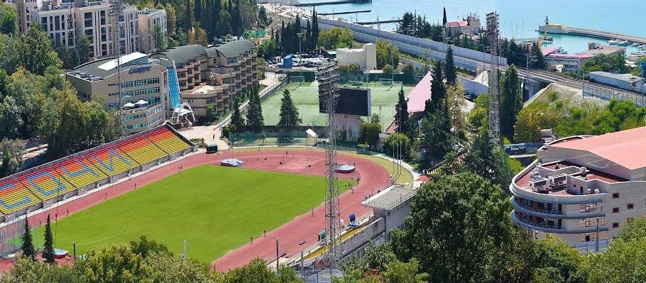 Юг Спорт - крупнейший на юге страны спортивный центр подготовки команд