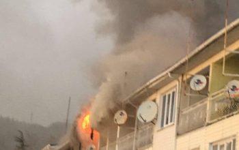 В Сочи, поселок Лоо сгорели эллинги