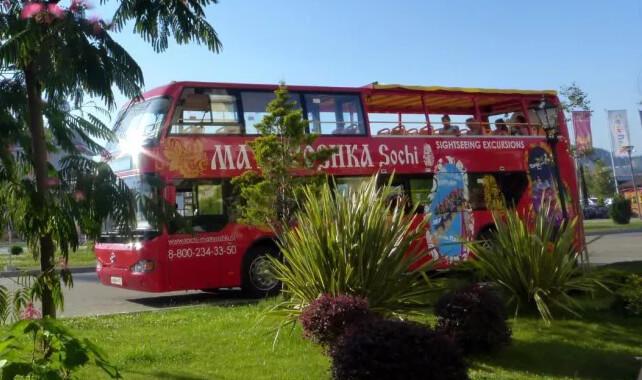 экскурсионный автобус Матрешка
