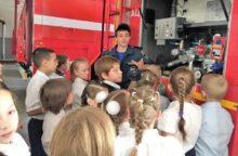 Экскурсия в пожарно-спасательную часть № 6 г. Сочи для школьников