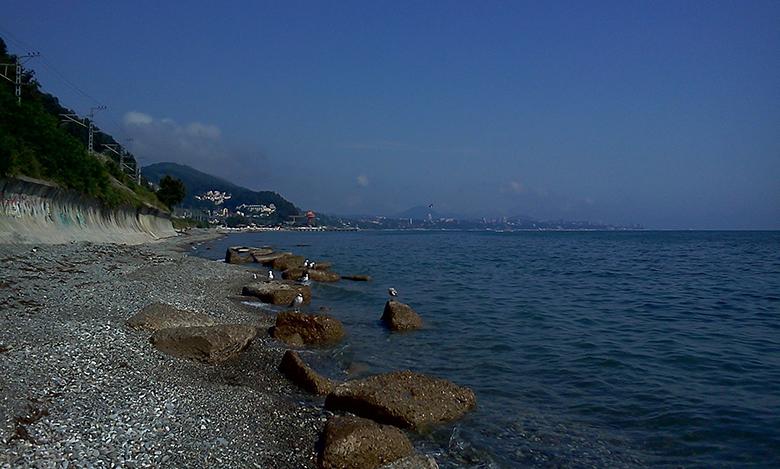 дикий пляж Сочи
