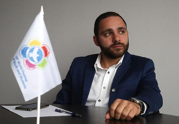 Президент федерации молодежи