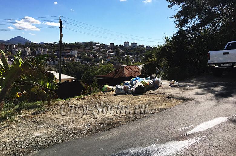 Мусорные контейнеры исчезают с улиц Сочи