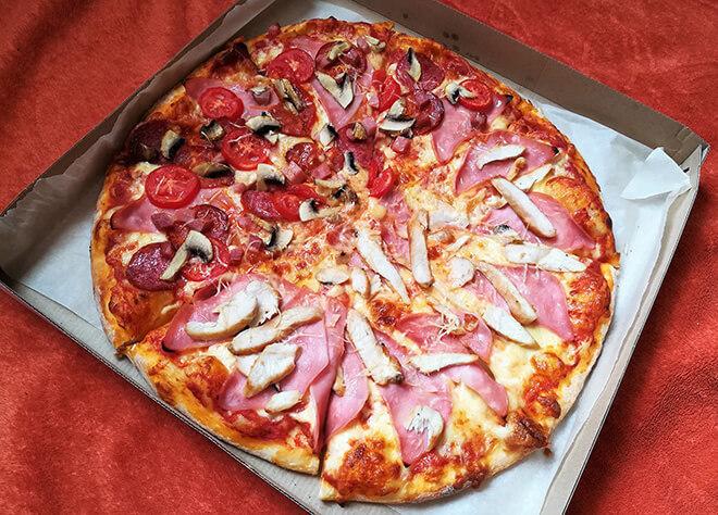 фото пиццы pasta pesto