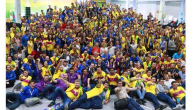 Закончился фестиваль молодежи в Сочи