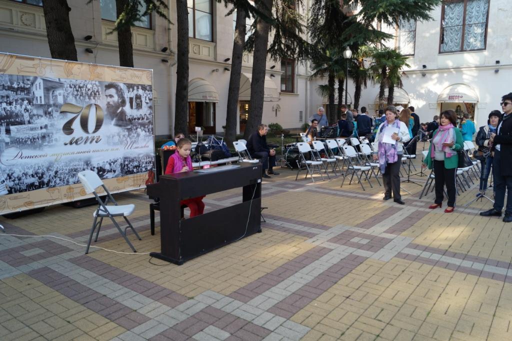 творческом проект Уличное пианино