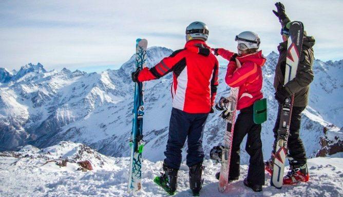 На лыжах в новый 2018 год