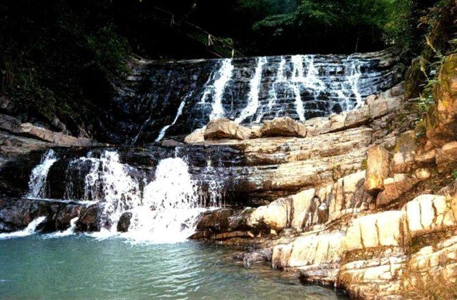 Джегошские водопады или 33 водопада