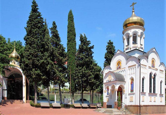 Храм Николаю Чудотворцу в Лазаревском