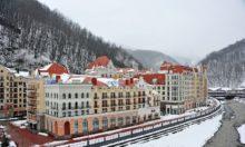 Тюлип инн Сочи Роза Хутор - Вид на отель