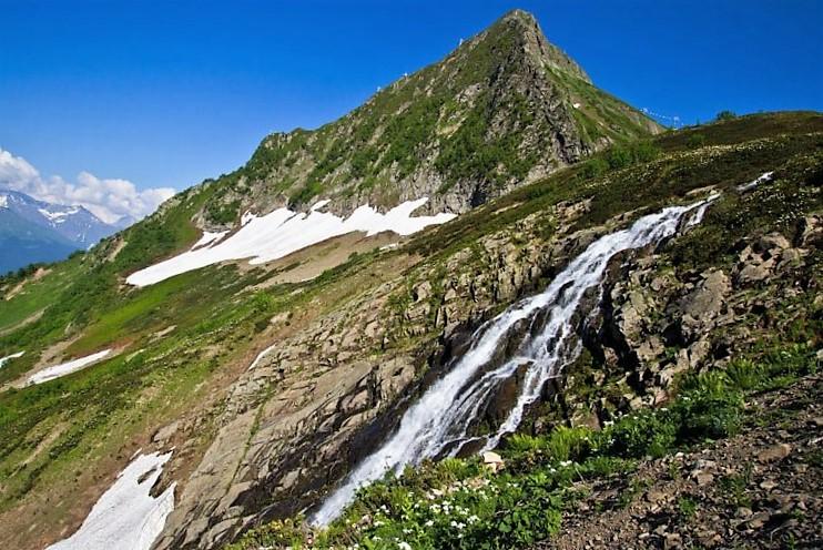 Водопад Медвежий Сочи