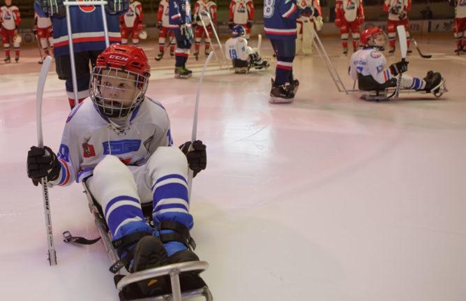 следж-хоккейная команда Сочи