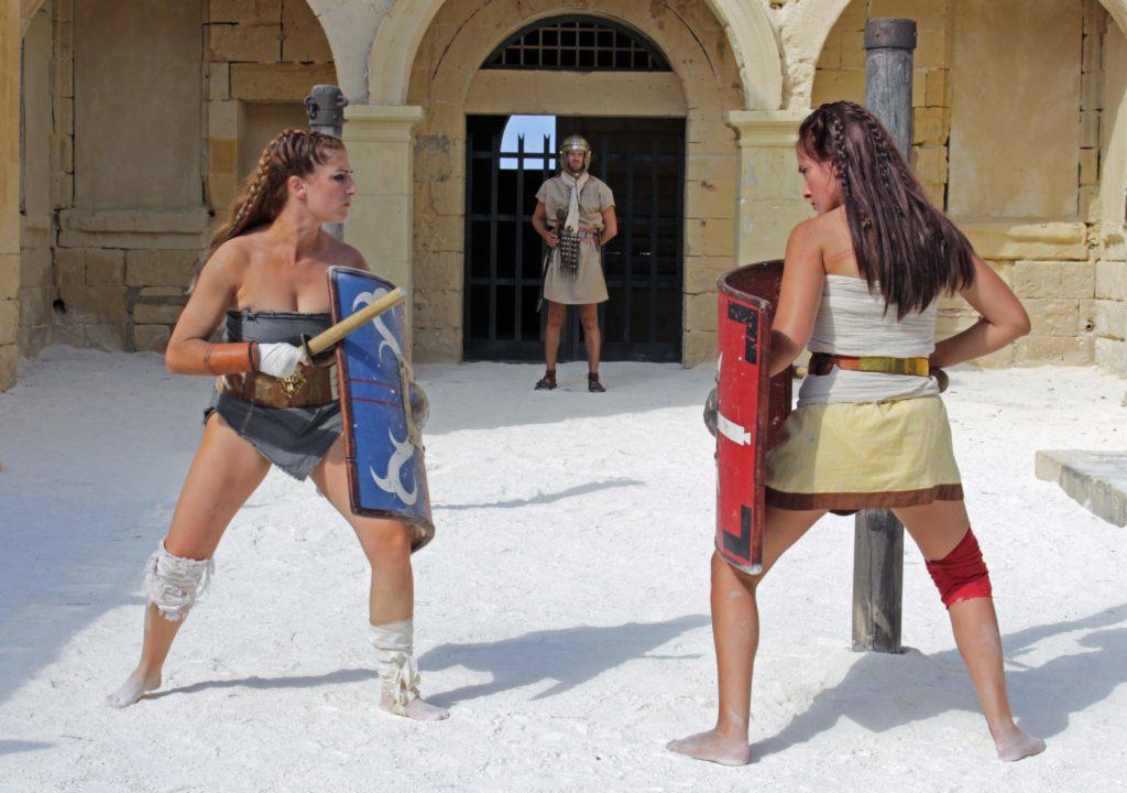 Картинки женщин гладиаторов