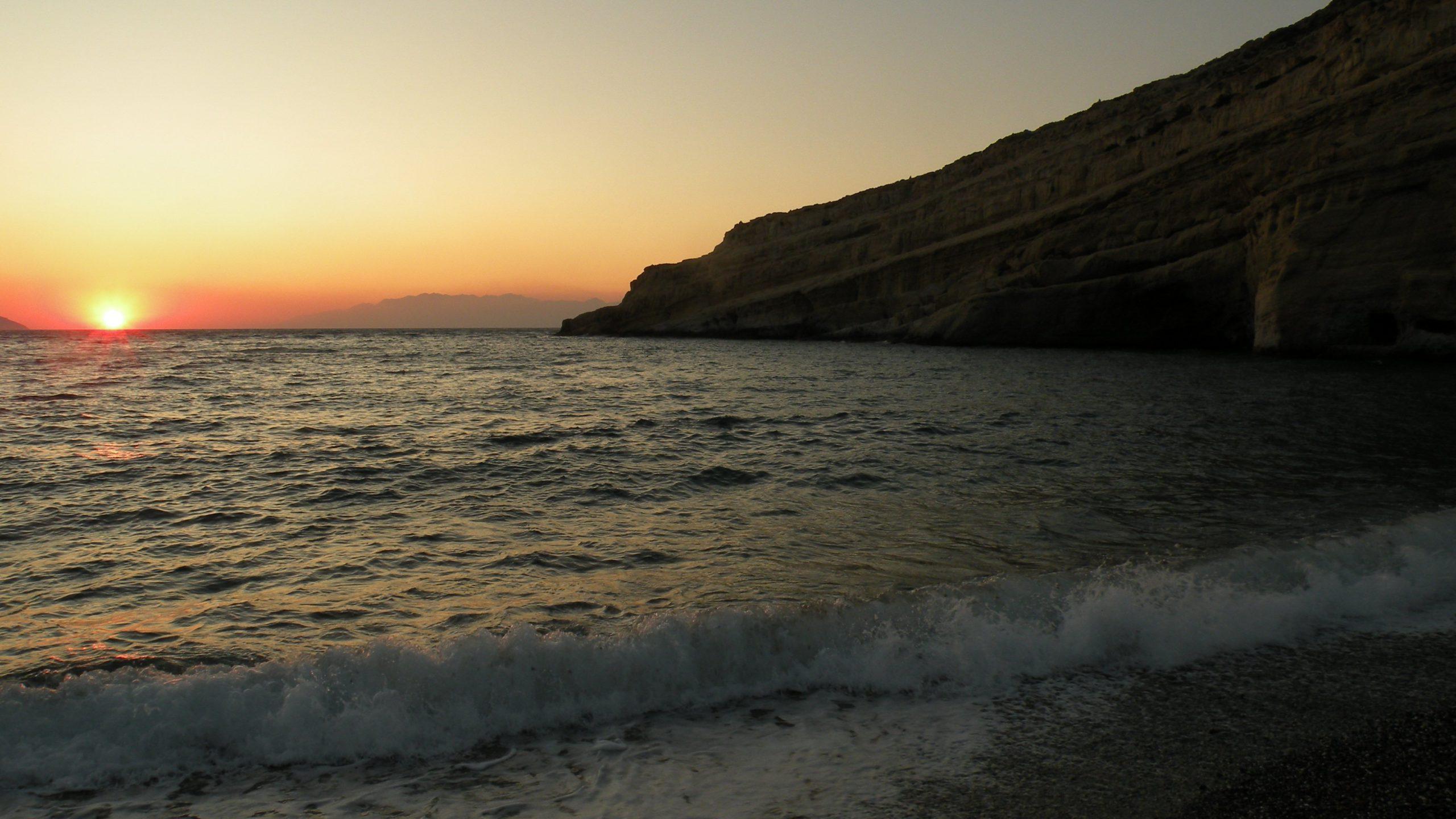Крит для романтиков: топ-5 курортов острова с самыми красивыми закатами