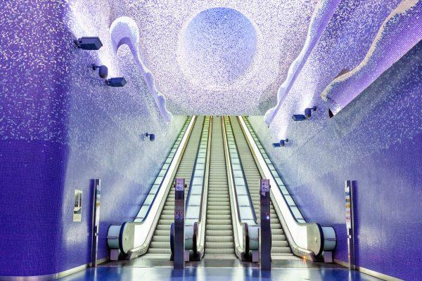 7 самых необычных и красивых метро в мире