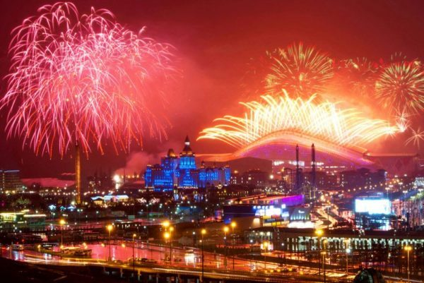Лучшие места России для встречи Нового 2020 года