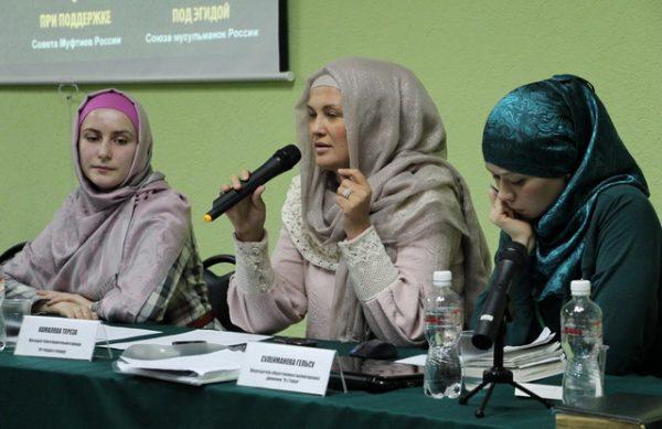Как мусульманки фотографируются на документы