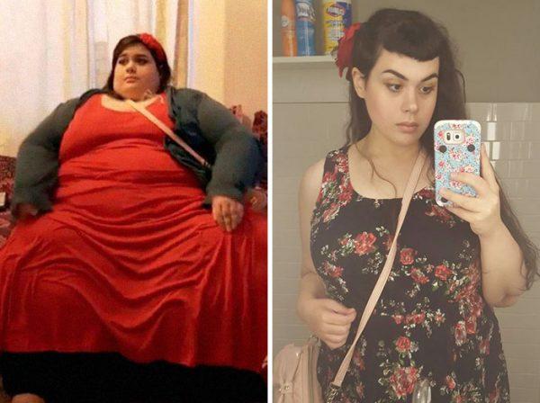 Девушка, которая весила 300 кг, похудела и превратилась в красавицу