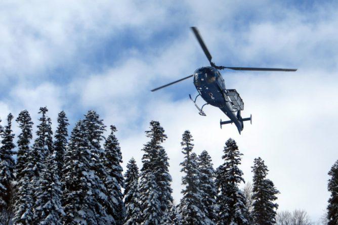 Прогулки на вертолетах