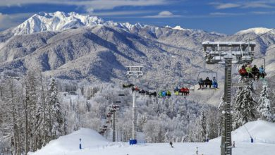 Топ-5 горнолыжных курортов Кавказа