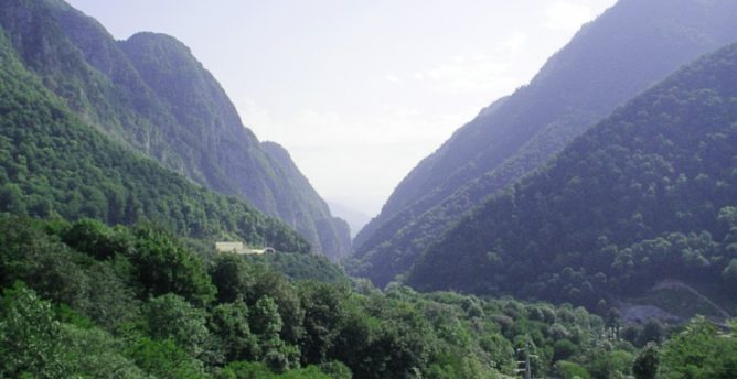 Ущелье Ахцу в Адлере (Сочи)
