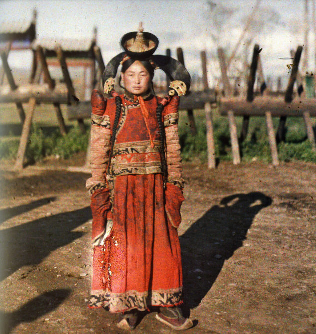 женщины Монголии