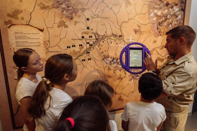 интерактивном музее Археологии в Роза Долине
