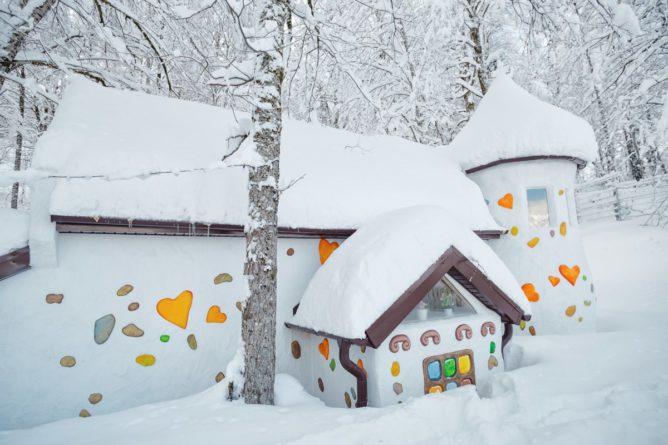 «Wonder Land» на Поляне 960 зимой