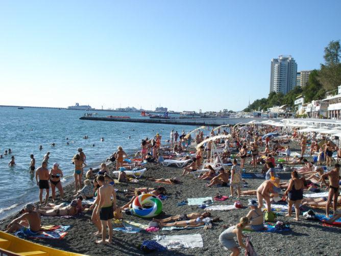 Лучшие пляжи Сочи 2021