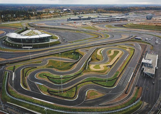 гоночная трасса Формулы-1 Сочи