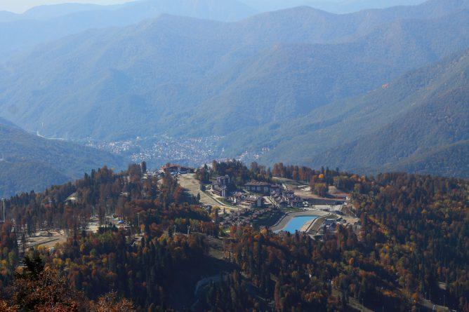 отели в горах Сочи март