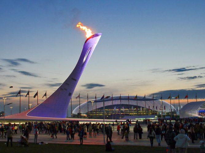 Прогулка по Олимпийскому парку